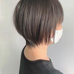 ベリーショート ショートヘア 黒髪 ショート ヘアスタイルや髪型の写真・画像
