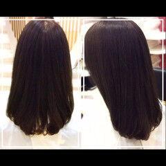 時短 ロング ナチュラル 似合わせ ヘアスタイルや髪型の写真・画像