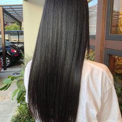フェミニン ロング 水素 大人ロング ヘアスタイルや髪型の写真・画像