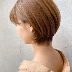 ショートヘア 大人女子 ナチュラル 大人かわいい ヘアスタイルや髪型の写真・画像