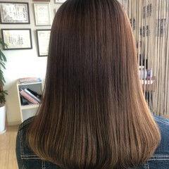 髪質改善 ナチュラル 髪の病院 ミディアム ヘアスタイルや髪型の写真・画像