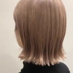 アッシュグレージュ ミルクティーグレージュ バレイヤージュ ガーリー ヘアスタイルや髪型の写真・画像