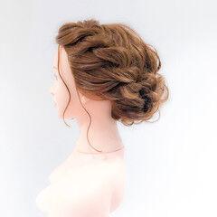 ヘアセット ロング 成人式ヘア アップスタイル ヘアスタイルや髪型の写真・画像