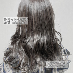 切りっぱなしボブ ウルフカット ナチュラル ブリーチなし ヘアスタイルや髪型の写真・画像