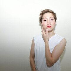 ショート ショートボブ ヘアメイク 外国人風 ヘアスタイルや髪型の写真・画像