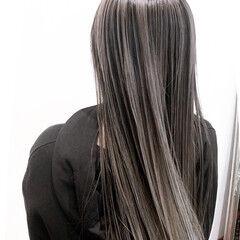 ストリート セミロング ヘアスタイルや髪型の写真・画像
