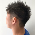 毛束感 メンズショート メンズカット ナチュラル