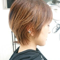 ハンサムショート ナチュラル 簡単スタイリング ショート ヘアスタイルや髪型の写真・画像