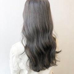 ブリーチなし シアーベージュ シアー 髪質改善カラー ヘアスタイルや髪型の写真・画像