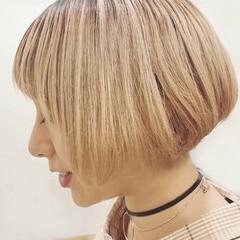 ショートボブ ボブ ショートヘア モテ髪 ヘアスタイルや髪型の写真・画像