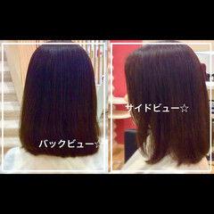 ミディアム 似合わせ ナチュラル ヘアアレンジ ヘアスタイルや髪型の写真・画像