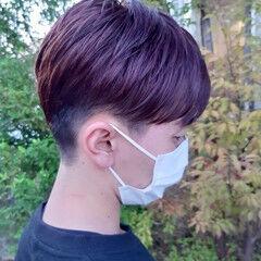 ショートヘア ショート ベリーショート インナーカラー ヘアスタイルや髪型の写真・画像