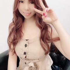 ベリーピンク ピンクバイオレット ピンク ピンクラベンダー ヘアスタイルや髪型の写真・画像