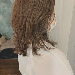 ハイライト 大人かわいい 外ハネボブ ネオウルフ ヘアスタイルや髪型の写真・画像