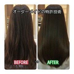 髪の病院 名古屋市守山区 髪質改善 トリートメント ヘアスタイルや髪型の写真・画像