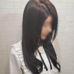 縮毛矯正 デジタルパーマ 艶髪 縮毛矯正ストカール ヘアスタイルや髪型の写真・画像