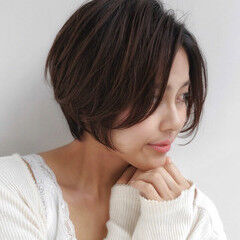 比留川游 ショート ショートボブ 新垣結衣 ヘアスタイルや髪型の写真・画像