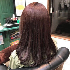 ワンカール ロング ストリート ヴァイオレット ヘアスタイルや髪型の写真・画像