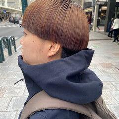 マッシュMIX ショート 小顔ショート ナチュラル ヘアスタイルや髪型の写真・画像