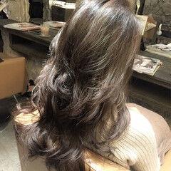 ハイライト ストリート 外国人風 かき上げ前髪 ヘアスタイルや髪型の写真・画像
