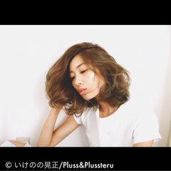 ベージュゴールド パンク ストリート 外国人風 ヘアスタイルや髪型の写真・画像