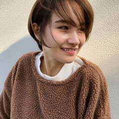 小顔 新垣結衣 ショート 色気 ヘアスタイルや髪型の写真・画像