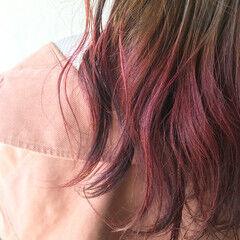 春ヘア フェミニン ローズ ロング ヘアスタイルや髪型の写真・画像