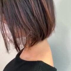 ボブ 不器用さん向け簡単アレンジ 夏のヘアケア対策 ナチュラル ヘアスタイルや髪型の写真・画像