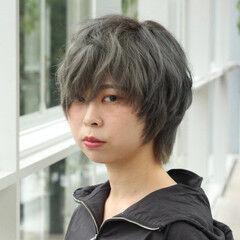 かっこいい ウルフ女子 モード オシャレ ヘアスタイルや髪型の写真・画像