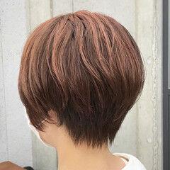 ショート ショートボブ ショートヘア ヘアカラー ヘアスタイルや髪型の写真・画像