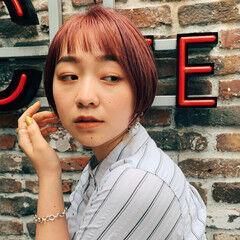 ショート 阿藤俊也 似合わせカット PEEK-A-BOO ヘアスタイルや髪型の写真・画像