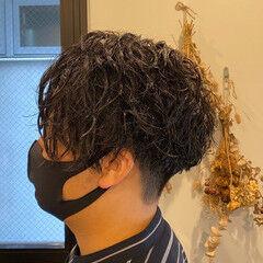 メンズパーマ メンズスタイル ストリート メンズ ヘアスタイルや髪型の写真・画像
