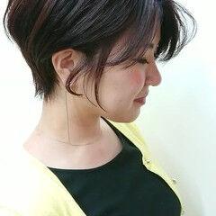 東京 上品 ヘアスタイル ショート ヘアスタイルや髪型の写真・画像