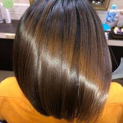 髪の病院 縮毛矯正 髪質改善 美髪 ヘアスタイルや髪型の写真・画像