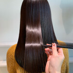 髪質改善トリートメント イルミナカラー 髪質改善 ロング