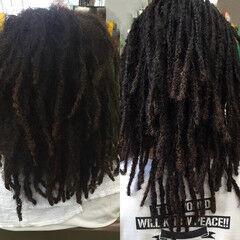 ロング ストリート 暗髪 ドレッド ヘアスタイルや髪型の写真・画像