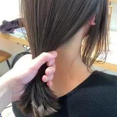 ウルフカット フェミニン 前髪あり こなれ感 ヘアスタイルや髪型の写真・画像