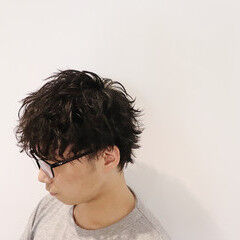 ショート ストリート ウルフパーマ ウルフレイヤー ヘアスタイルや髪型の写真・画像
