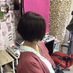 ショートボブ ショートヘア ショート 外国人風カラー ヘアスタイルや髪型の写真・画像