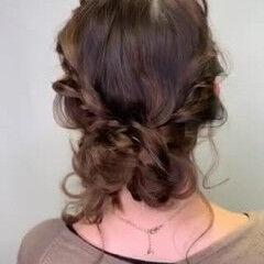カジュアル 不器用さん向け簡単アレンジ アンニュイほつれヘア 大人カジュアル ヘアスタイルや髪型の写真・画像