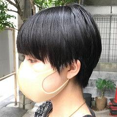 ショート 小松菜奈 マッシュショート モード ヘアスタイルや髪型の写真・画像