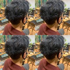 ツーブロック 刈り上げ メンズカット ショート ヘアスタイルや髪型の写真・画像