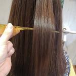 ストレート 髪質改善トリートメント うる艶カラー 艶髪