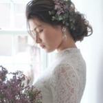 花嫁 上品 結婚式 ロング