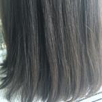 大人かわいい 前髪あり ナチュラル セミロング