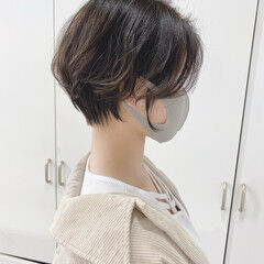 ショートヘア 大人ショート コンサバ ショート ヘアスタイルや髪型の写真・画像