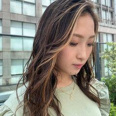 スライシングハイライト うぶ毛ハイライト PEEK-A-BOO 阿藤俊也 ヘアスタイルや髪型の写真・画像