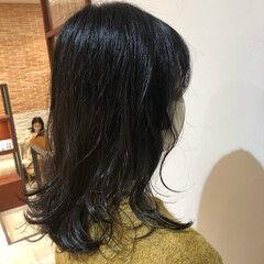 ダメージレス デジタルパーマ おしゃれ ナチュラル ヘアスタイルや髪型の写真・画像