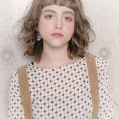 愛され ボブ 冬 フェミニン ヘアスタイルや髪型の写真・画像