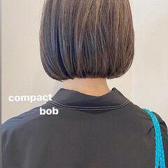 スポーツ ボブ デート 大人かわいい ヘアスタイルや髪型の写真・画像